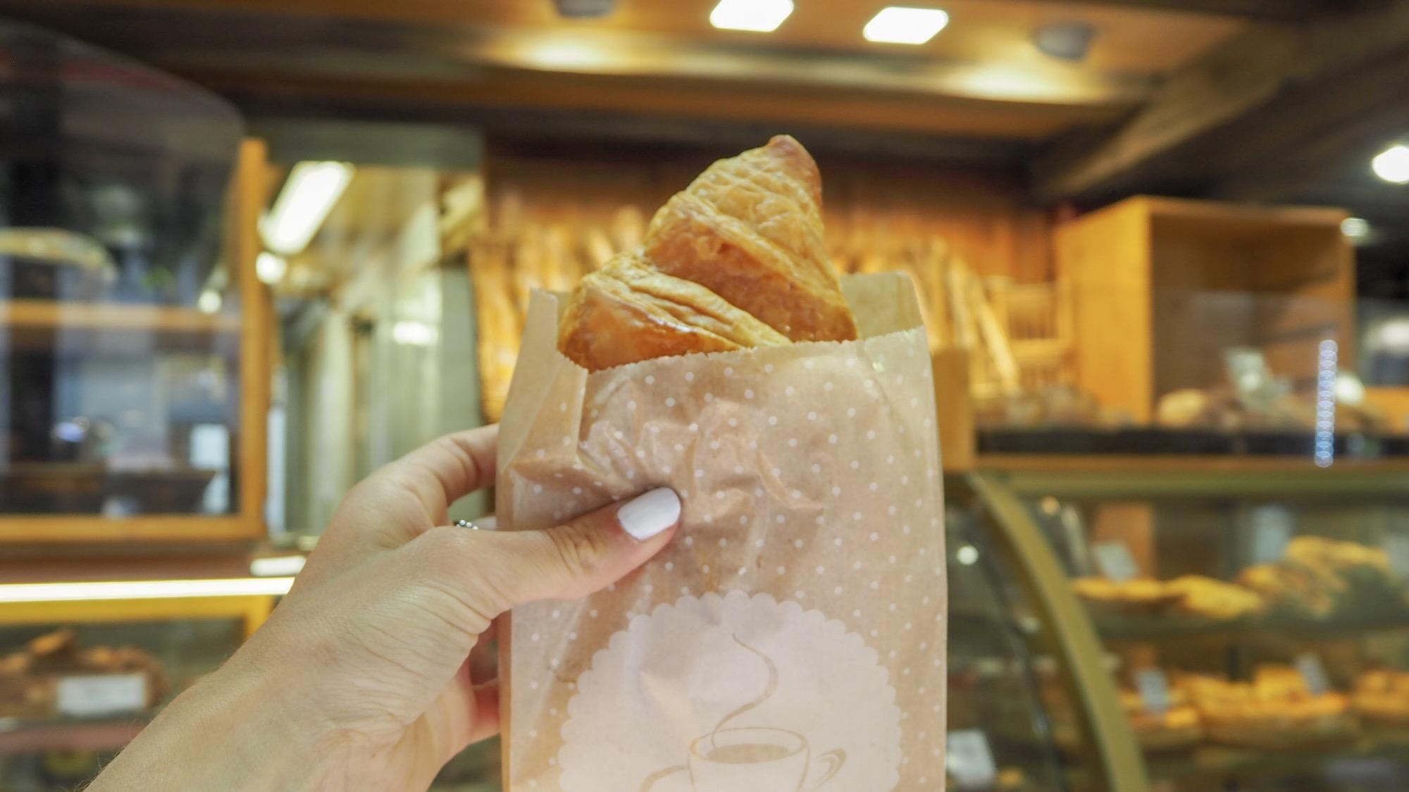 Croissant Coquelicot