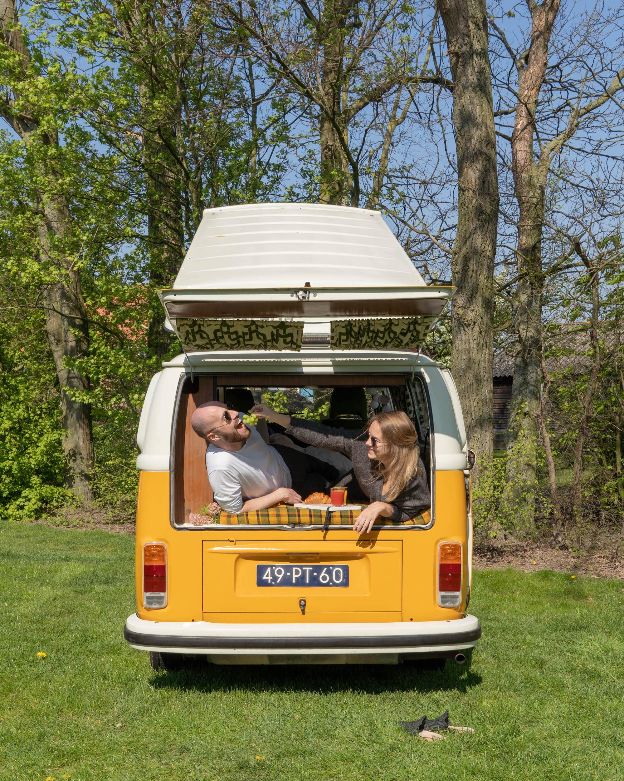 De Volkswagenbus