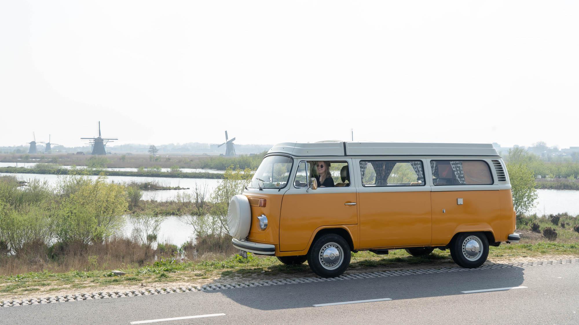 Kinderdijk Volkswagenbus
