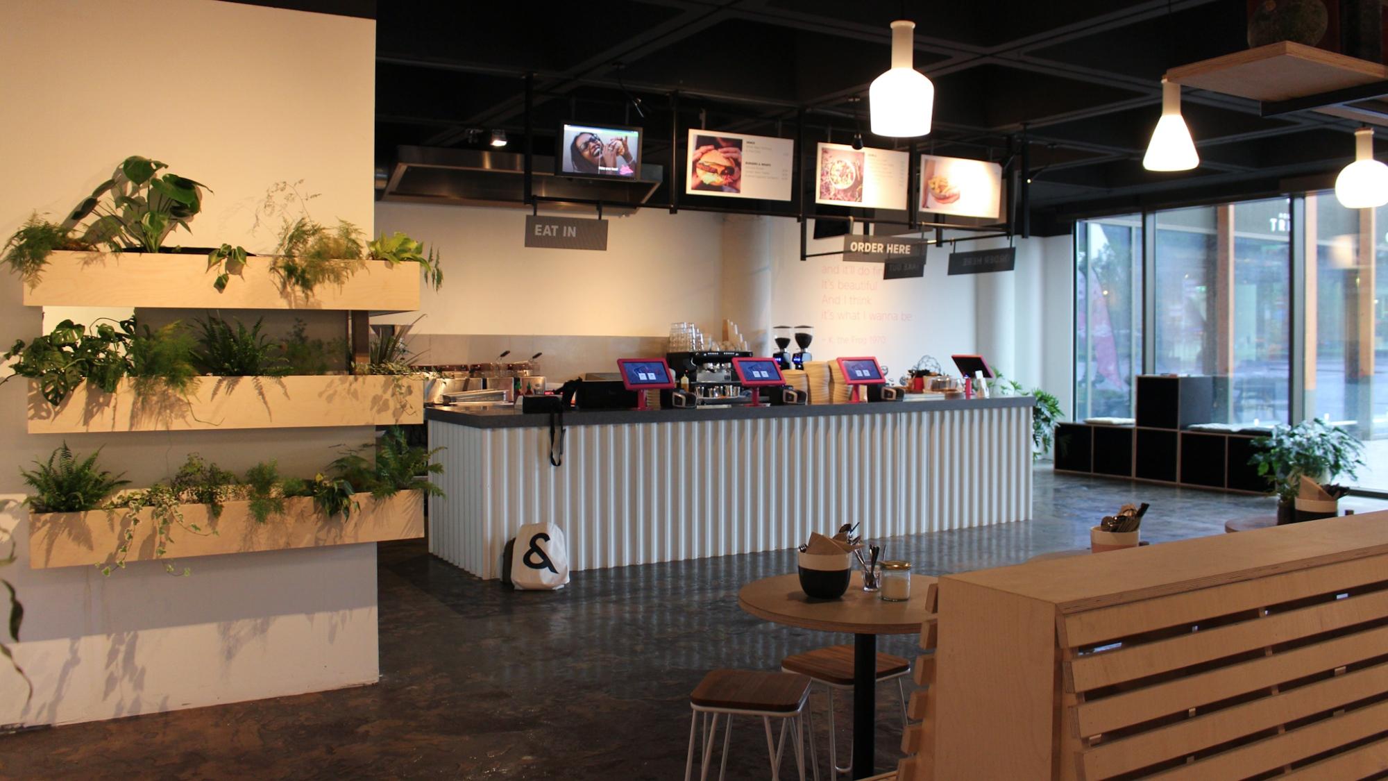 Vegetarisch veganistisch restaurant Jack Beanin de buurt van Rotterdam Centraal