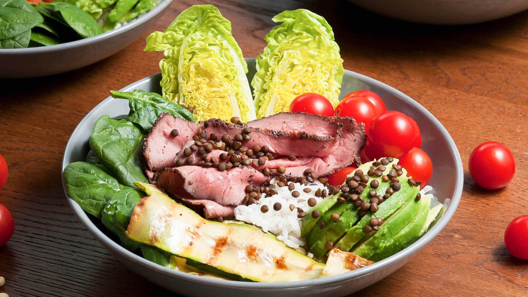Rockin' Roast Beef salade