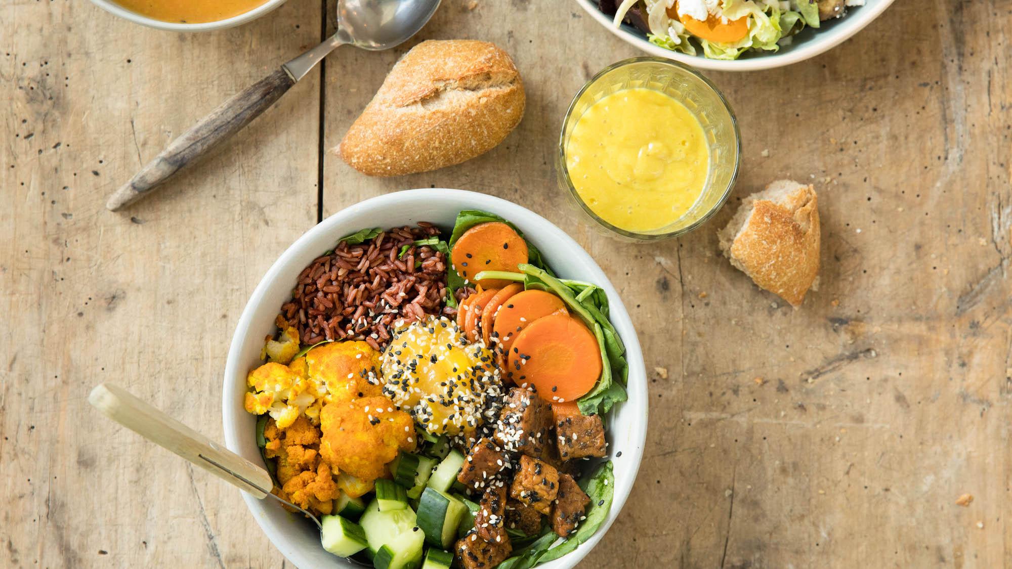 Salade Indian Tempeh