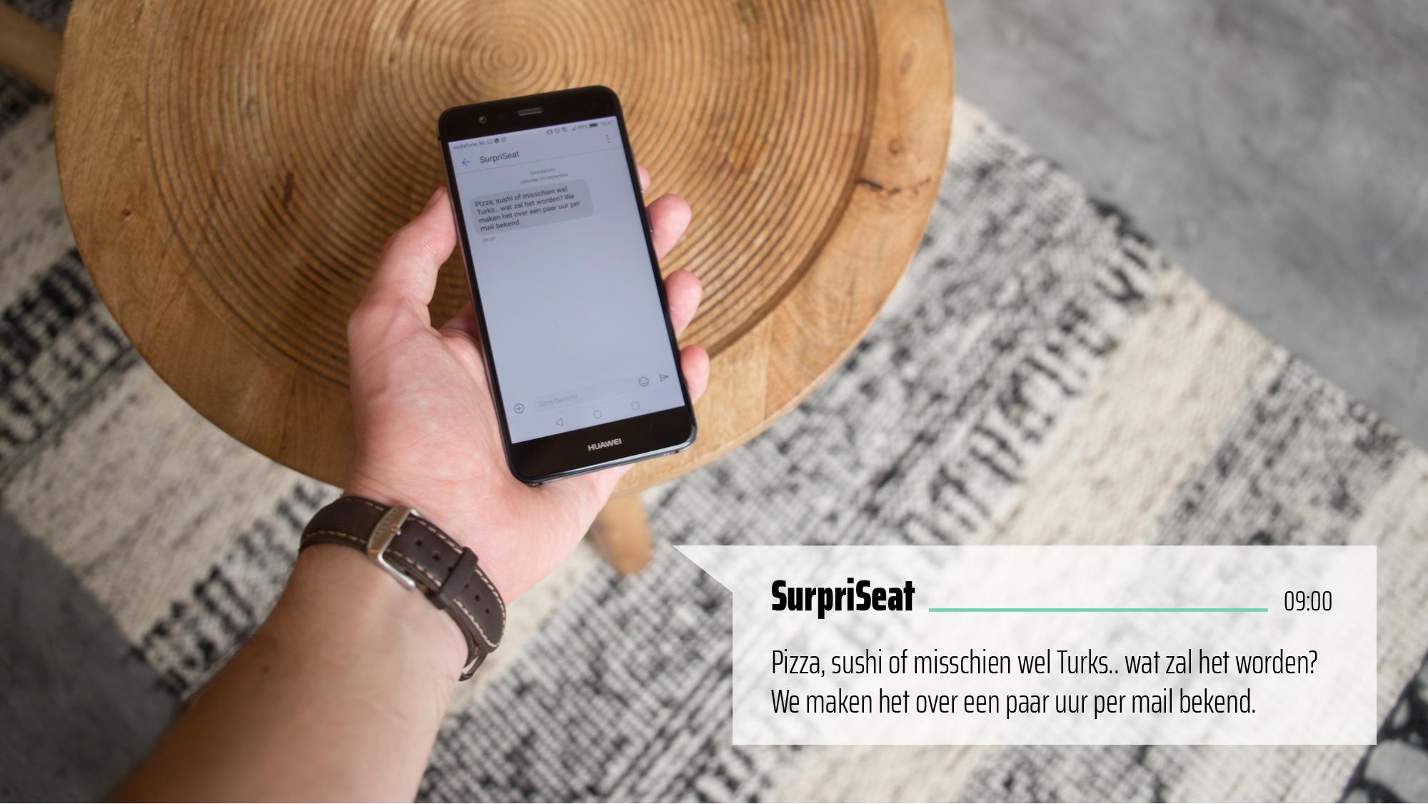 SurpriSeat-SMS