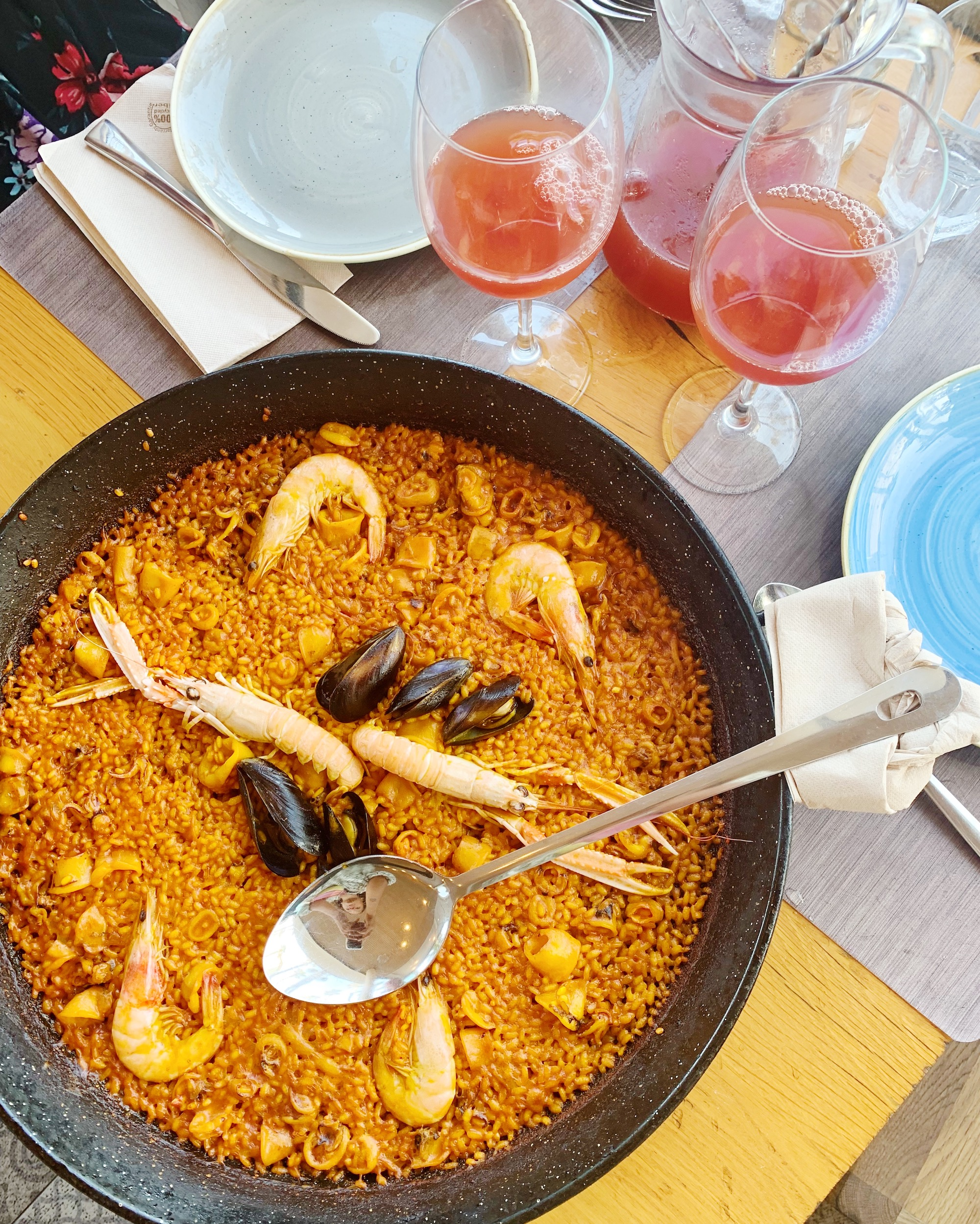 Paella at Portolito