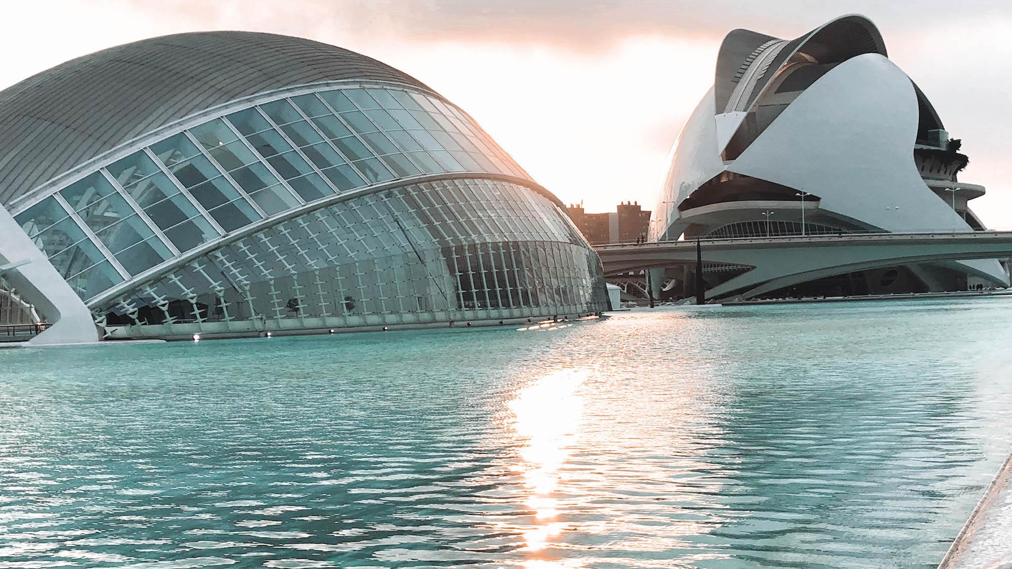 Stad van Kunst en Wetenschap Valencia
