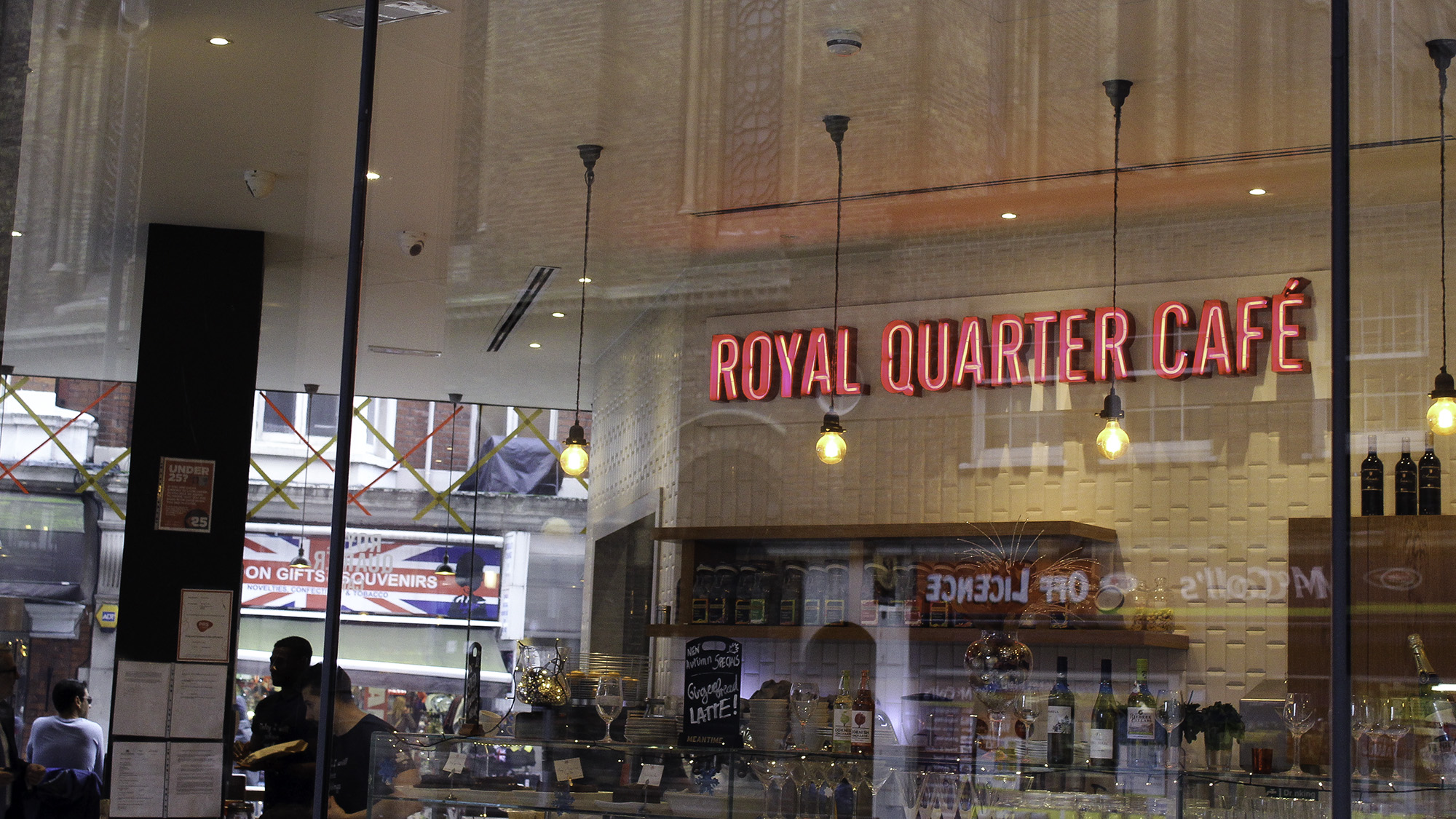 Royal Quarter Cafe London